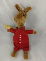"Llama Llama Plush Doll Red Pajamas 12"" Merrymakers 2009 Stuffed Animal - $9.13"