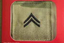 Us Army Gi Multicam Ocp E-4 Cpl Hook Back Camouflage Camo Uniform Rank Patch - $5.93