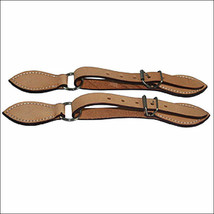 180052 HILASON RUSSET LEATHER SPUR STRAP 5/8IN SKIRT LEATHER U-0052 - $18.95