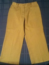 Austin Clothing Co.pants/capri-Girls-Size 16 -khaki flat front pants - $10.35