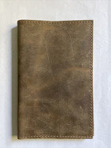 Full Grain Leather Refillable Journal Cover Narrow Gate Trading Co. Hand... - $34.99
