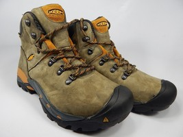 Keen Cleveland Soft Toe Size: 11 2E WIDE EU 44.5 Men's Utility Work Boots Brown