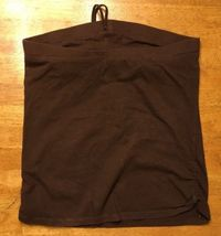 Xhilaration Girl's Brown Halter Top Shirt / Blouse Size: Large 10/12 image 7