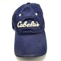 Cabelas Sports Hat Cap Strapback Blue World's Foremost Outfitters - $9.89
