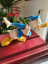Extremely Rare! Walt Disney Donald Duck Runnig Figurine Statue  - $495.00