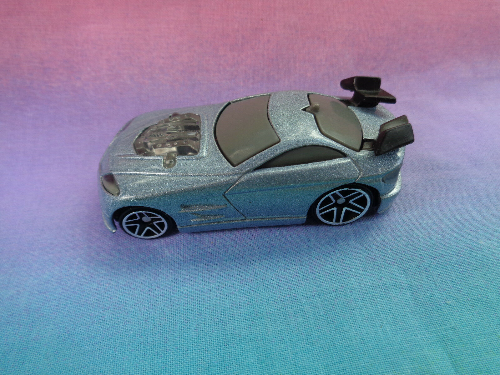 Primary image for 2004 McDonald's Mattel Blue Car - as is - not working