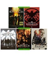 Agents Of Shield Complete Series Seasons 1 2 3 4 & 5 DVD New Sealed Set 1-5 - $47.00