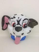 101 Dalmatians Nylon Blue Collar Puppy Dog Plush Head Pillow Vintage Dis... - $39.55