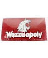 Wazzuopoly Board Game Washington State University personlized monopoly - $37.77