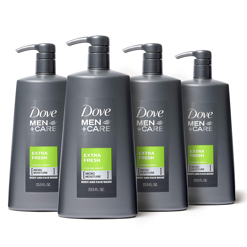Primary image for Dove Men+Care Body Wash With Pump For Men'S Skin Care Extra Fresh Body Wash That