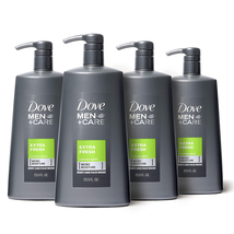 Dove Men+Care Body Wash With Pump For Men'S Skin Care Extra Fresh Body W... - $57.95