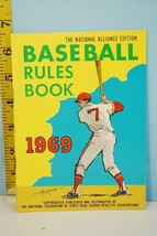 NFHS 1969 Baseball Rules & Handbook National Alliance Ed. High School Co... - $9.99