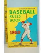 NFHS 1969 Baseball Rules & Handbook National Alliance Ed. High School Co... - $9.99