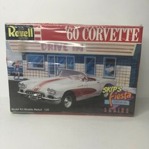 1960 Chevrolet Corvette Skip's Fiesta Drive In 1/25 Revell 1988 Sealed Model - $24.75