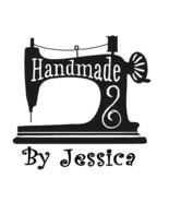 custom name sewing machine handmade by personalized business self inking... - $7.91
