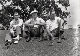 Art print POSTER Ben Hogan, Byron Nelson and Herman Keiser - $2.96+
