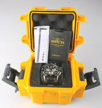 Invicta Men's Speedway 22235 Black & Stainless Steel Chronograph Watch NWOT image 2
