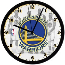 """Golden State Warriors LOGO Homemade 8"""" NBA Wall Clock w/ Battery Included - $23.97"""