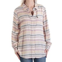 Tommy Hilfiger Stripe Button Down Shirt NWT$79.50 Yellow Multi Size M - $35.00