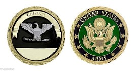 "Colonel Army Seal 1.75"" Military Challenge Coin - $16.24"