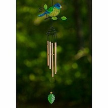 Bluebird Wind Chime Chimes Garden Décor Yard Outdoor Living Home - $18.55