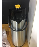 74oz (2.2L) Airpot Thermal Coffee Carafe/Lever Action/Stainless Steel In... - $23.36