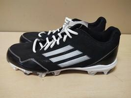 Men Adidas Baseball Wheelhouse 2 Black Silver White SZ 9 New D73938 - $37.05
