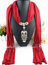 Charms Scarf jellery pendant Scarf Scarves lace Scarf image 12