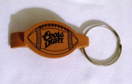~NEW~COORS LIGHT FOOTBALL~ Bottle Opener Key Chain~Never Used    - $3.88