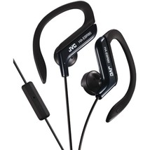 JVC HAEBR80B In-Ear Sports Headphones with Microphone & Remote (Black) - $29.73