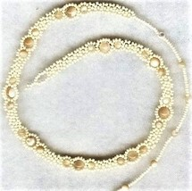 Natural Mother Of Pearl Beaded Daisy Chain Necklace - $16.99