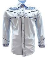 El General Men's Cowboy Shirt Camisa Vaquera Western Wear Sky Blue - €31,99 EUR