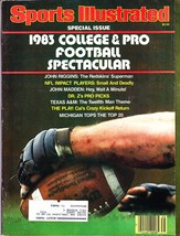 Sports Illustrated Magazine, Special Issue, 1983, College & Pro Football... - $2.75