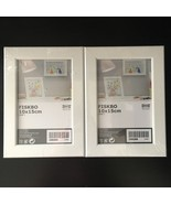 """NEW IKEA FISKBO Picture Frame 7"""" x 5"""" WHITE FRAME 2PC Contemporary NEW S... - $9.89"""
