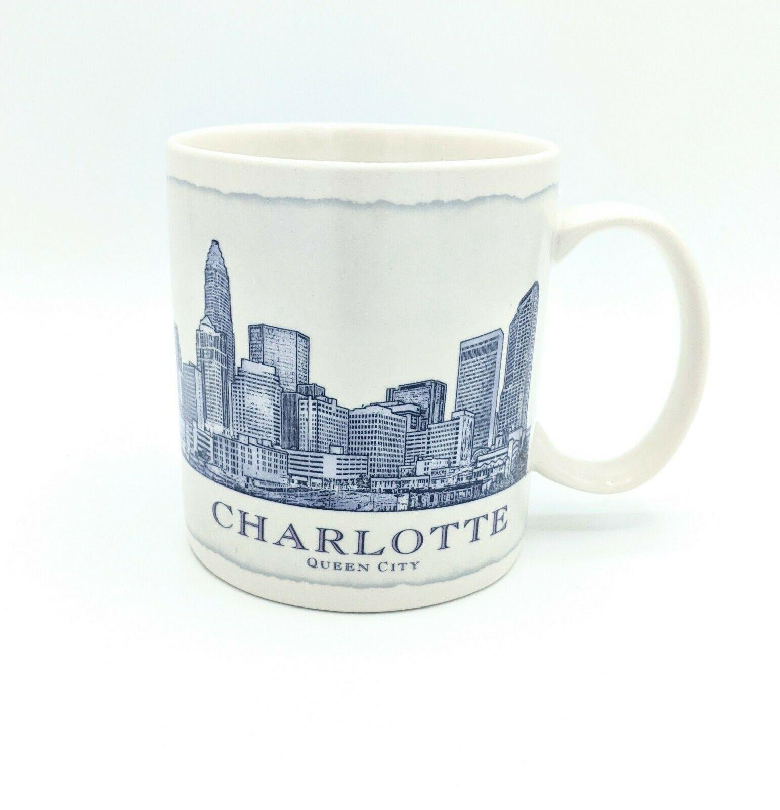 Starbucks 2008 CHARLOTTE NC City Large 18 oz Coffee Mug Collector Pristine EXC - $19.34
