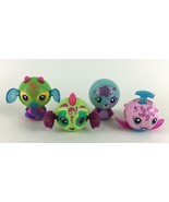 McDonald's Zoobles Lot of 4 Happy Meal Pop Up Toys 2012 - $12.82