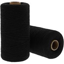 Bright Creations Loom Weaving Warp Thread 2 Rolls, 1600 Yards, Black - $20.70