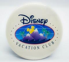 Vintage Disney Vacation Club 4 Inch Collectible Pinback Button Rare - $3.15