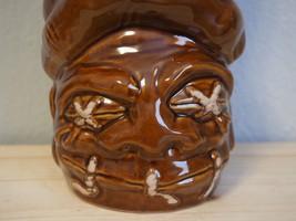 Limited Edition - Idol Hands Tiki Mug - Deadhead Rum - by Tiki Farm - Brown - $69.99