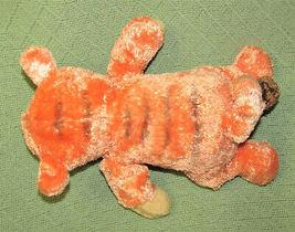 "DISNEY BABY WINNIE THE POOH IN TIGGER COSTUME PLUSH RATTLE 12"" STUFFED ANIMAL  image 5"