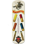 "Nostalgic Tin Thermometer ""Winchester Ammo "" Thermometer Wall Hanging - $12.25"
