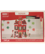 Creatology foam Christmas House 3D structure kit 240 pieces new kids craft - $5.00