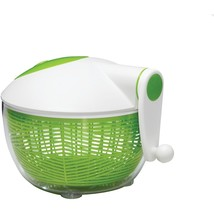 Starfrit Salad Spinner (green And White) SRFT093028 - $42.70