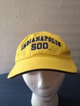 Yellow Embroidered Indianapolis 500 Speedway Indy Car Race Racing Ball H... - $10.85