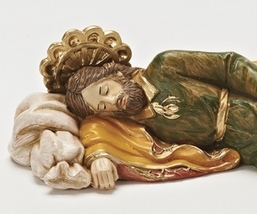 FONTANINI SLEEPING ST JOSEPH STATUE