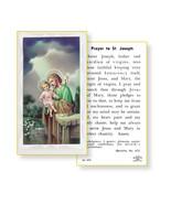 St. Joseph the Worker Prayer Holy Card 100-Pack - $34.99