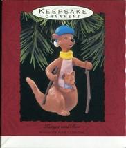 1993 - New in Box - Hallmark Christmas Keepsake Ornament - Kanga and Roo - $4.89