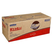 Wypall L10 Disposable Towels 05322, Limited Use, 1-PLY, Pop-Up Box, White, 18 Bo