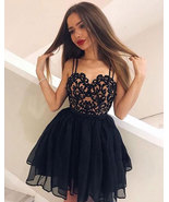 Spaghetti Straps Short/Mini  Prom Dresses Homecoming Dress - $129.99
