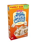 Kellogg's Frosted Mini-Wheats, Breakfast Cereal, Original, Family Size, ... - $7.00